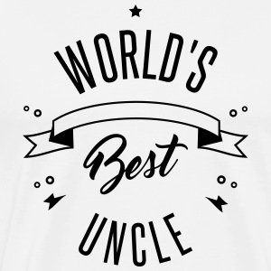 WORLD S BEST UNCLE - Men's Premium T-Shirt