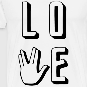 Prosper - Love Long and Prosper - Men's Premium T-Shirt