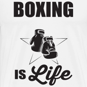 Boxing - Boxing if life - Men's Premium T-Shirt