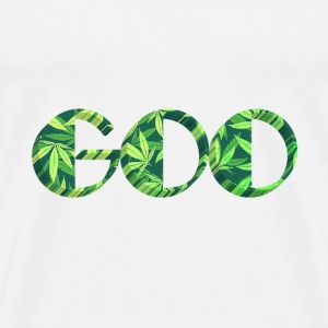 GOO Weed Smoke Dope Hanf Urban Kush Joint Cannabis - Men's Premium T-Shirt