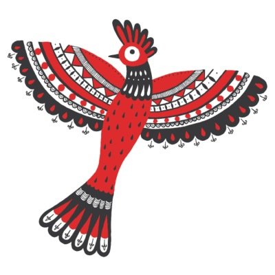 The red bird - Men's Premium T-Shirt