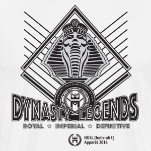 HUSL Dynasty Legends - grey - Men's Premium T-Shirt