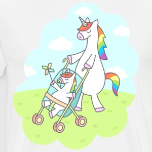 Unicorn Mama Gift Shirt Pre - Men's Premium T-Shirt
