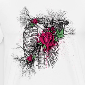 Roses Ribs - Men's Premium T-Shirt