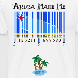 Aruba made me original - Men's Premium T-Shirt