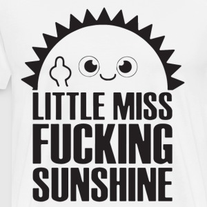Little miss fucking sunshine - Men's Premium T-Shirt