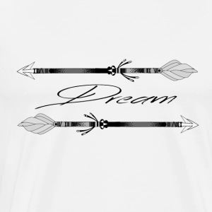 Ethno arrow Dream - Men's Premium T-Shirt