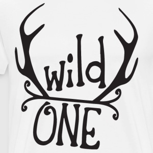 wild one wild one shirt wild one boy wild o - Men's Premium T-Shirt