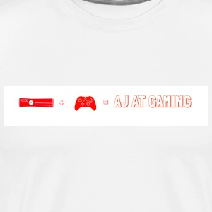 xbox+controller=AJ AT GAMING - Men's Premium T-Shirt