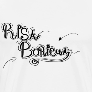 Risa Boricua Clothing and Accessories - Men's Premium T-Shirt