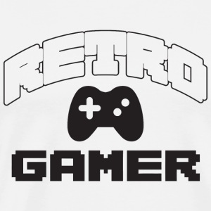 Gamer - Retro Gamer - Men's Premium T-Shirt