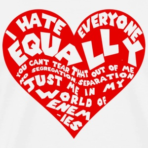 Slayer I hate everyone equally - Men's Premium T-Shirt