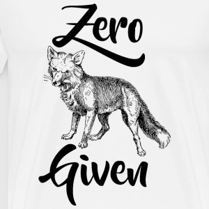 Fox - Zero Fox Given - Men's Premium T-Shirt