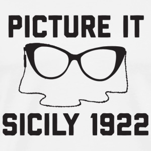 Dorothy Picture It Sicily 1922 - Men's Premium T-Shirt