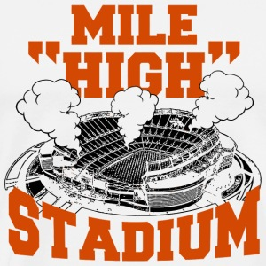 Stadium - mile high stadium - Men's Premium T-Shirt