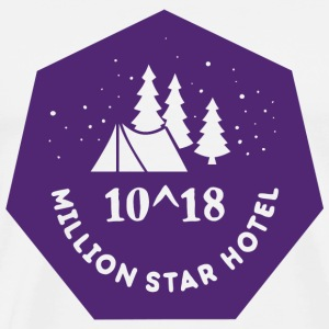 Camping - Million Star Hotel - Men's Premium T-Shirt