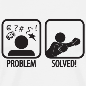 Boxing - Boxing: Problem solved! - Men's Premium T-Shirt
