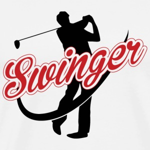Golf - Golf: Swinger - Men's Premium T-Shirt