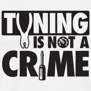 Car - Tuning is not a crime - Men's Premium T-Shirt