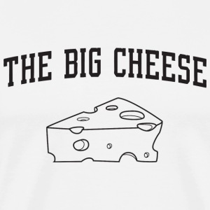 Cheese - The Big Cheese - Men's Premium T-Shirt