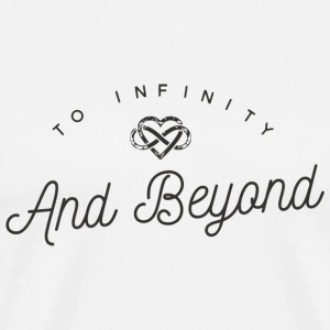 Love - INFINITY AND BEYOND - Men's Premium T-Shirt