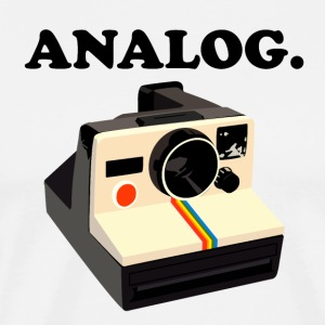 Analog Polaroid Camera - Men's Premium T-Shirt