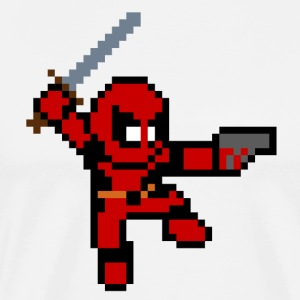 8 Bit Deadpool - Men's Premium T-Shirt