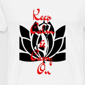 Keep Calm & Carry On - Men's Premium T-Shirt