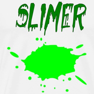 slimer splat - Men's Premium T-Shirt
