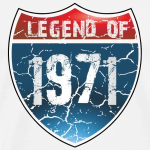 Legend Of 1971 - Men's Premium T-Shirt