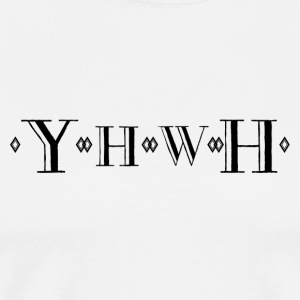 YHWH - Men's Premium T-Shirt