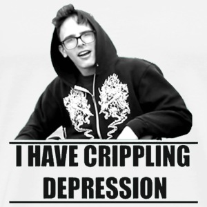 I Have Crippling Depression - Men's Premium T-Shirt
