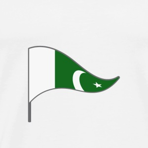 Pakistan Islamabad Asia Flag Banner Flags Ensigns - Men's Premium T-Shirt