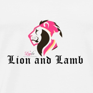 Lion and Lamb - Men's Premium T-Shirt