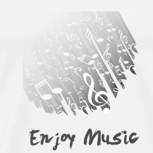 GIFT - ENJOY MUSIC - Men's Premium T-Shirt