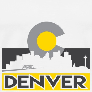 Denver Gray and Gold - Men's Premium T-Shirt