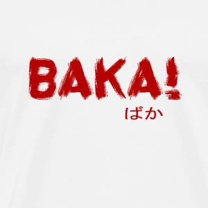 BAKA OTAKU DESIGN - Men's Premium T-Shirt