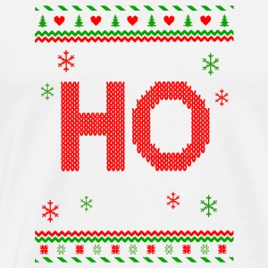 Funny Christmas Ho shirt 1 -Family Matching shirt - Men's Premium T-Shirt