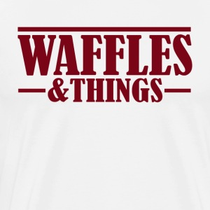 Waffles and things - Men's Premium T-Shirt