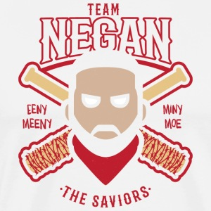 Negan Team Savior Eeny Meeny Miny Moe Baseball Shi - Men's Premium T-Shirt