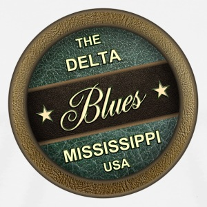 The delta blues - Men's Premium T-Shirt