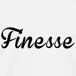 Finess supreme black logo exclusive unique design - Men's Premium T-Shirt
