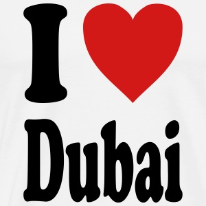 I love Dubai (variable colors!) - Men's Premium T-Shirt