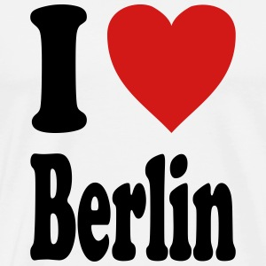 I love Berlin (variable colors!) - Men's Premium T-Shirt