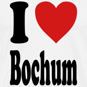 I love Bochum (variable colors!) - Men's Premium T-Shirt