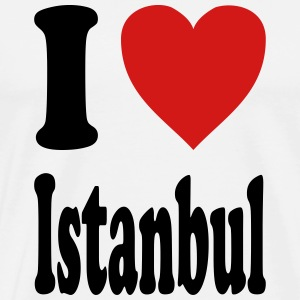 I love Istanbul (variable colors!) - Men's Premium T-Shirt