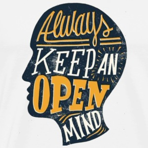 Always Keep an Open Mind - Men's Premium T-Shirt
