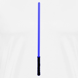 Blue Lightsaber - Men's Premium T-Shirt