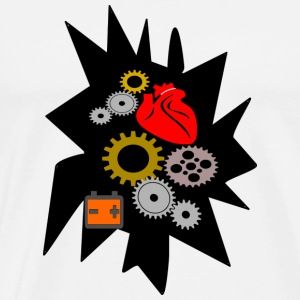 heart mechanics - Men's Premium T-Shirt