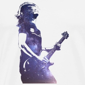 Steven Rocking In Space - Men's Premium T-Shirt